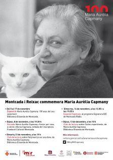 Commemoració centenari Maria Aurèlia Capmany