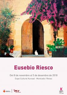 Exposició pintures de Eusebio Riesco