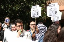Concentració per reclamar el cicle de documentació sanitària a la Ferreria